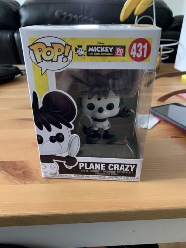 Funko Pop! Plane Crazy Mickey Mouse #431 Disney 90th Anniversary