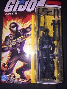 🔥💥🐍👀🐍👀🐍👀🐍👀🐍👀GI Joe Snake Eyes ExclusiveAction Figure Retro Hasbro