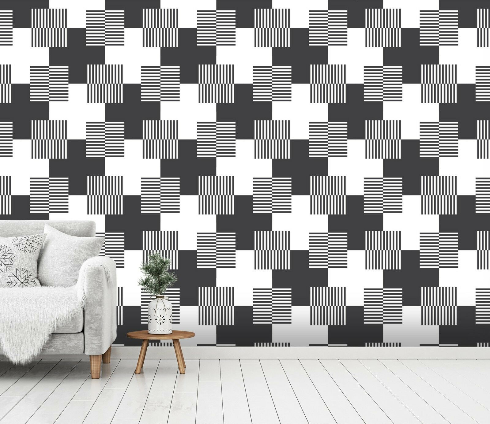 3D Modern Tile 312 Wallpaper Mural Print Wall Indoor Wallpaper Murals UK Summer