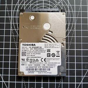 """Toshiba 1TB 2.5"""" Laptop Hard Drive MQ02ABF100 SATA 5400RPM DS001D 0RK1PP"""