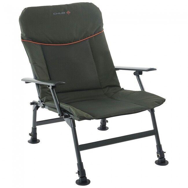 Cacho RS Plus cómodo sillón verde Acolchado Pesca Silla del brazo NUEVO - 1378163