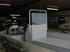 plexiglass boat windshield, boat grabrail, windshield wrap, boat center console