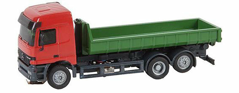FALLER Coche System LKW MB Actros L02 Low Sided Lorry V HO Gauge 161481