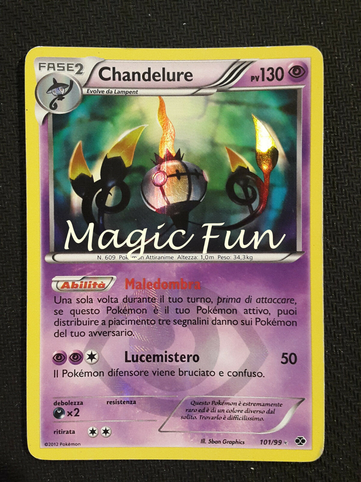 Chandelure pv130 101 101 101   99 fuori serie - destini futuri (mf) 6b4352