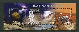 Curacao-2015-MNH-NASA-Earth-of-Space-4v-M-S-Pluto-Charon-Mars-Lander-Rover