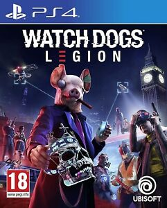 WATCH DOGS LEGION PS4 - ITALIANO - PLAYSTATION 4 - UBISOFT - UPGRADE PS5