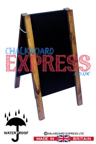 A Board Pavement Display Frame Stand Blackboard Chalk Traditional Chalkboard