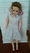 Vintage 1950's Very Large Rubber Fashion Doll Sleepy Eyes