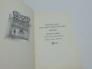 Charlie and the Chocolate Factory by Roald Dahl 1964 1st Edition