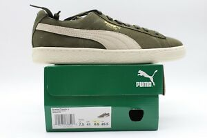 Wildleder Athletic neu Birke 363242 Olive Puma 27 Night Sneaker Herren Classic 5Ypgaq