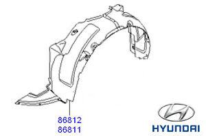 Genuine-Hyundai-i30-raices-Forro-Arco-Rueda-Delantera-Lh-Lado-Pasajero-868112R500