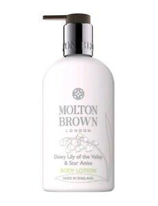 NEW-Molton-Brown-Dewy-Lily-of-the-Valley-amp-Star-Anise-Body-Lotion-300ml