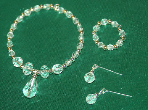 Sparkling Crystal Jewelry Set Cissy doll Miss Revlon