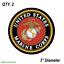 2-TWO-US-MARINES-Vinyl-Decal-Sticker-For-Car-Laptop-Skateboard-NEW-USA-Marine thumbnail 3