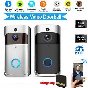 WiFi-Doorbell-Video-Smart-Phone-Doorbell-Security-Camera-Doorbell-IR-Visual-Kit