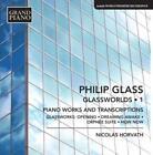Glassworlds: Klavierwerke Vol.1 von Nicolas Horvath (2015)