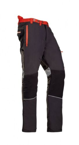 SIP  Innovation II Type A CHAINSAW Trousers Black /& Red-1SPV