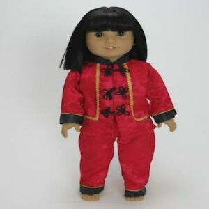 """Doll Clothes AG 18"""" Pants Asian Red Manufactured Made To ..."""
