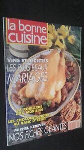Revista Mensual Dibujada La Buena Cuisine N º 105 Abril-Mayo 1992 Buen Estado