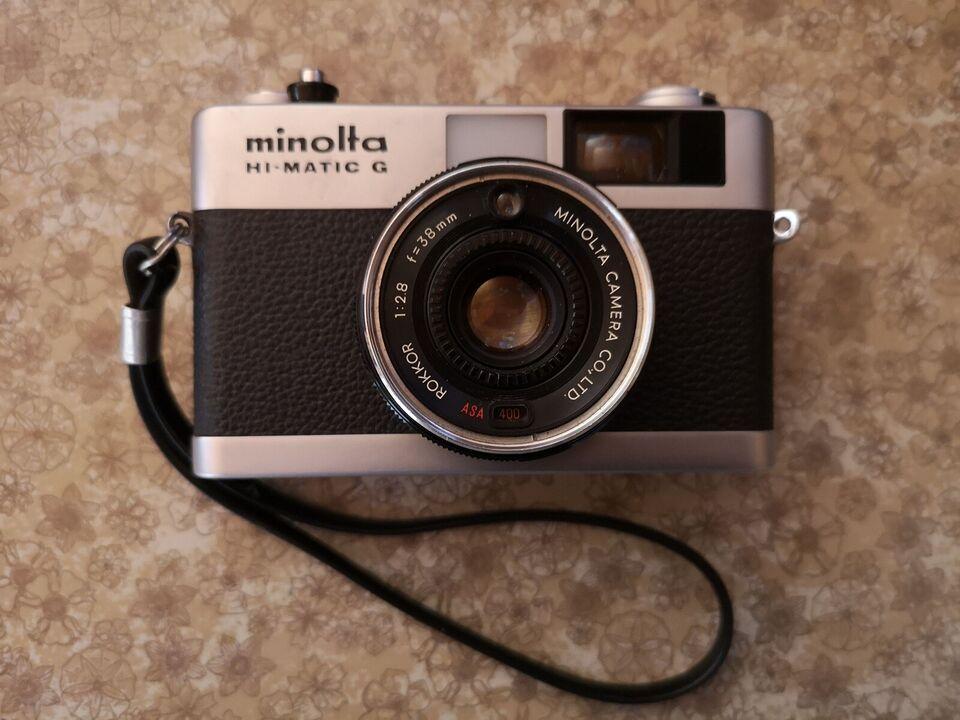Fotografiapparat, Minolta, Hi-Matric G
