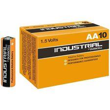 10 x DURACELL INDUSTRIAL BATTERIE AA ALCALINE da 1,5 V LR6 MN1500 Batteria Procell