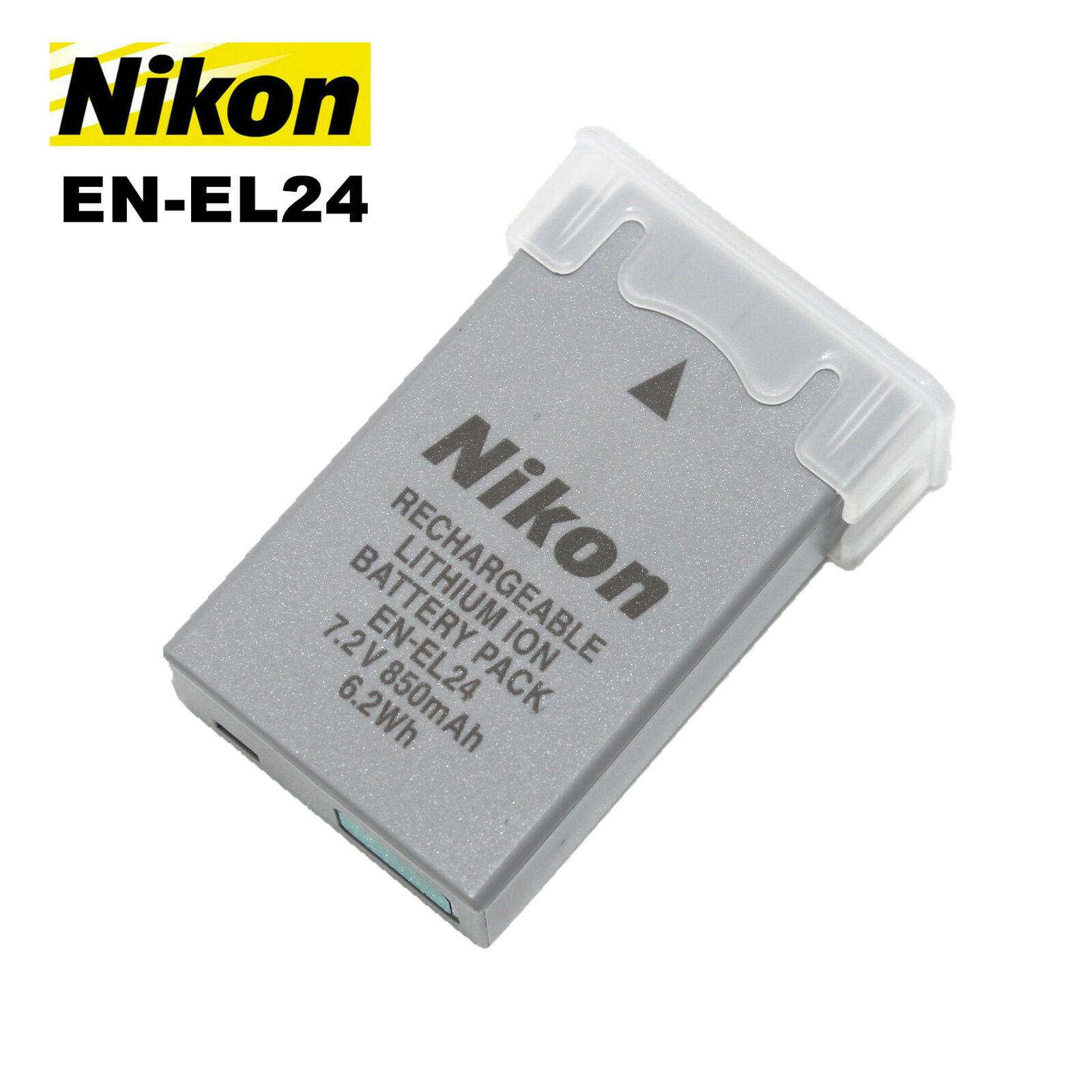 New Original Nikon EN-EL24 Battery for Nikon 1 J5, DL18-50, DL24-85 Cameras