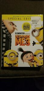 DESPICABLE-ME-3-034-BRAND-NEW-034-Blu-ray-DVD-W-Slip-Cover-Animated-Comedy-PG