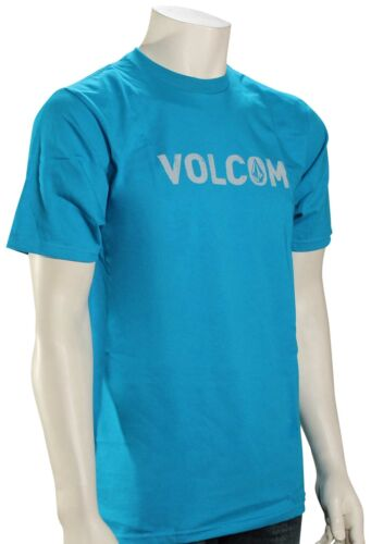 Volcom Cement T-Shirt New Bright Blue