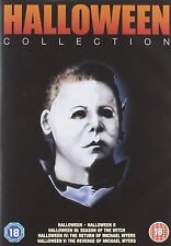 HALLOWEEN Movies Films Complete DVD Collection Boxset: Part 1+2+3+4+5 Sealed