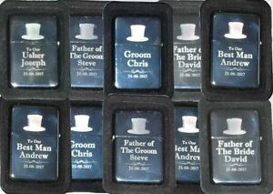 Personalised-Silver-Male-Wedding-Favour-Gifts-Engraved-Metal-Lighters