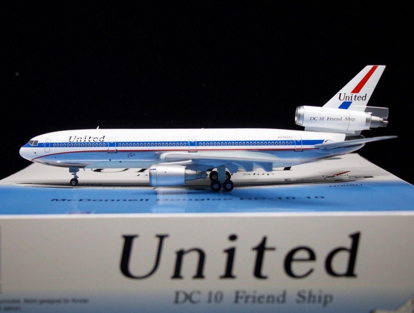 Fertilizantes 100517PA 1 200 United Airlines DC-10-10 N1816U barco amigo Pulido Con Soporte