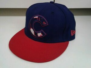 MLB-Chicago-Cubs-New-Era-59Fifty-Baseball-Cap-Hat-7-1-8-Authentic