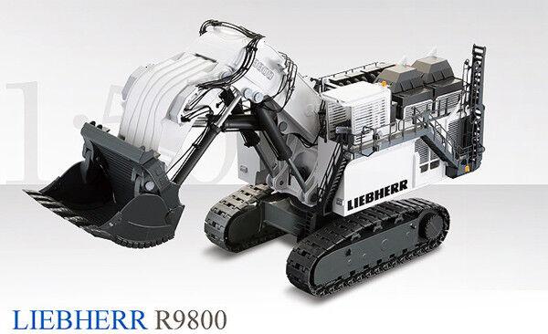 Conrad 2942 Liebherr R9800 Mining Pelle avec visage pelle 1 50 Die-Cast Comme neuf IN BOX