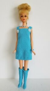 FRANCIE-DOLL-CLOTHES-Dress-Overalls-Boots-and-Jewelry-HM-Fashion-NO-DOLL-d4e