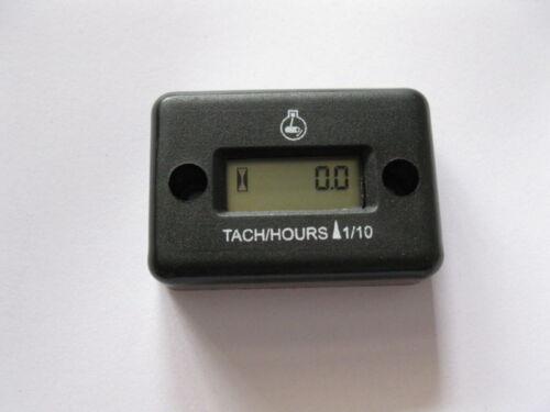 Hour meter tachometer dirt bike atv motorcycle jet ski 4 Stroke Inductive TACH//H
