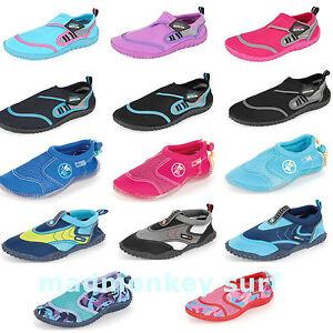 Ladies Urban Beach Berry Aqua Shoes Sizes