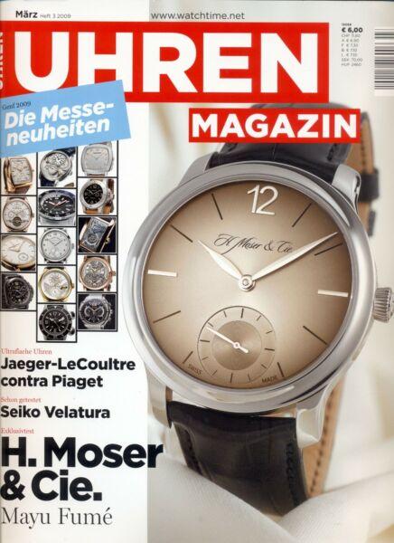 Aggressiv Uhren Magazin März Heft 3/2009 SchöNer Auftritt