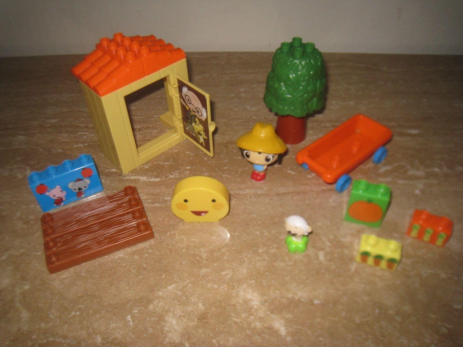 Kai Lan Mega Bloks lot Garden Bedroom Dragon Boat Bakery Treehouse Tolee Rintoo