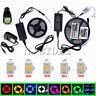 5M SMD 3528 5050 5630 7020 300LEDs RGB White LED Strip Light 12V Power Supply NS