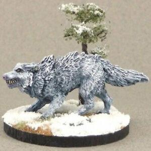 Reaper Dark Heaven Legends 02649 Winter Wolf Animal Hell Hound Warg