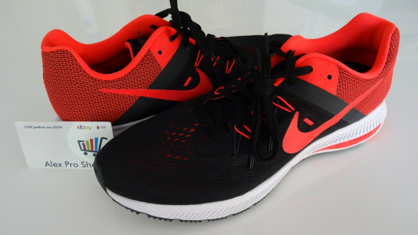 56b8eb9cb83ee New Men s Size 9.5 Nike Nike Nike Zoom Winflo 2 Running Shoes 807276 006  03b840