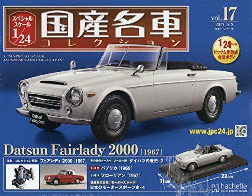 Die japanischen bekannten auto collection vol.17 5   2 datsun fairlady 2000 1967 - magazin