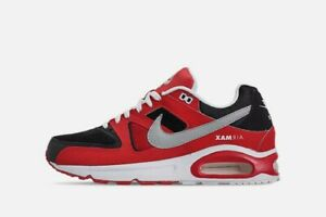Details about NEW MENS SZ 8 NIKE AIR MAX COMMAND (629993 039) BLACK RED METALLIC SILVER