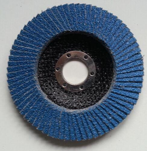 INOX Fächerscheibe Ø125 mm Korn 120 Schleifscheiben Edelstahl Fächerscheiben