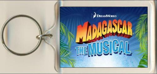 Madagascar The Musical Keyring Bag Tag.