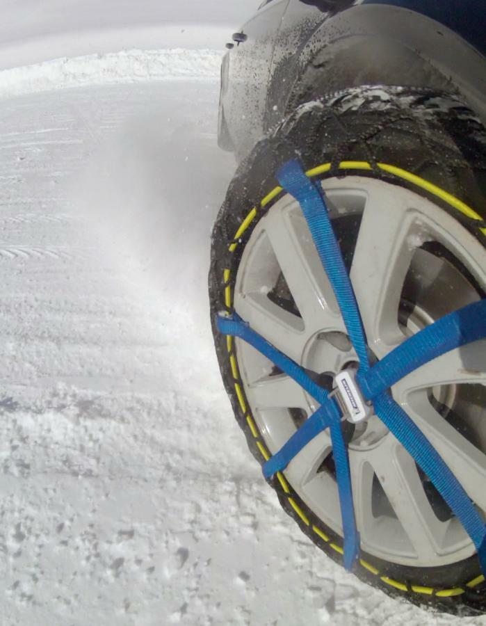 Set of 2 13 MICHELIN 008313/Easy Grip Snow Chains Evolution Group