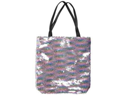 Pailletten Shopper Tasche Strandtasche Wendepailletten 37 cm x 34 cm Shopperbag
