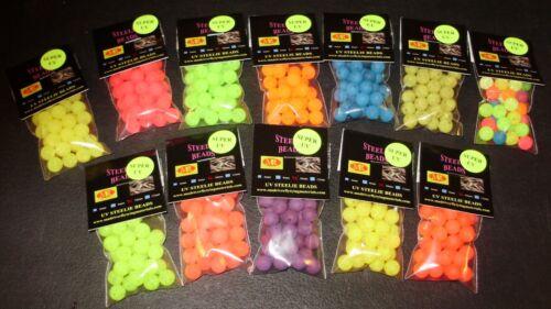 SPRING 2019 SPECIAL 12 PKGS UV 10mm Trout /& Steelhead Beads  $18.00!