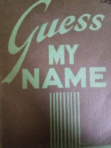 Details about Guess My Name (Bible Quiz) Mabel H  Hansen [Paperback,  Zondervan, 1950)