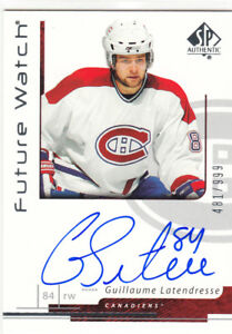 2006-07-SP-Authentic-186-Guillaume-LATENDRESSE-Future-Watch-RC